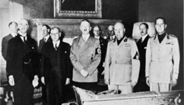 Britain's appeasement of Germany