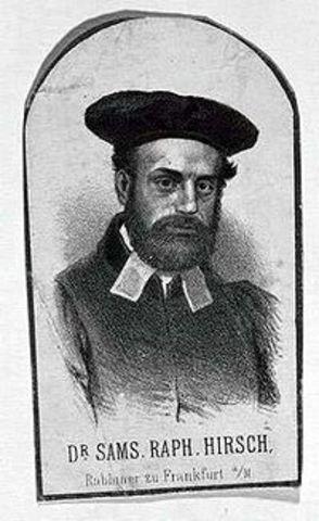 Birth of Rav Samson Hirsch