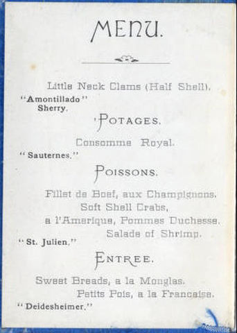 The trefa banquet