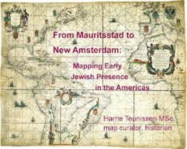First Jews Settle in New Amsterdam