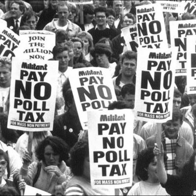 Poll Tax. timeline