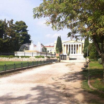 Hellas i nyere tid timeline