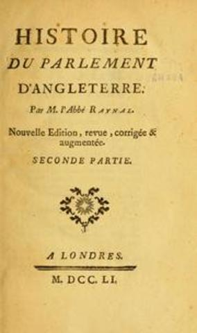 """Première édition de """"l'Histoire du Parlement d'Angleterre"""""""