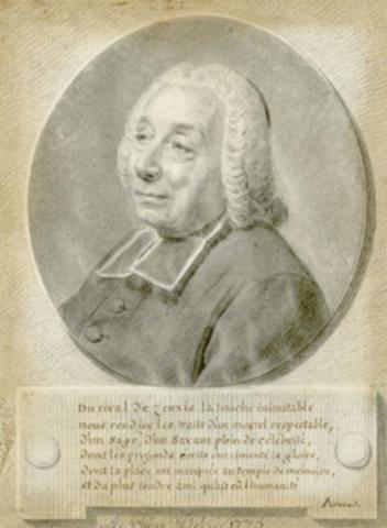 Portrait de l'abbé par André Pujos