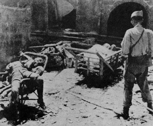 U.S. Sixth Army attacks Japanese in Manila.