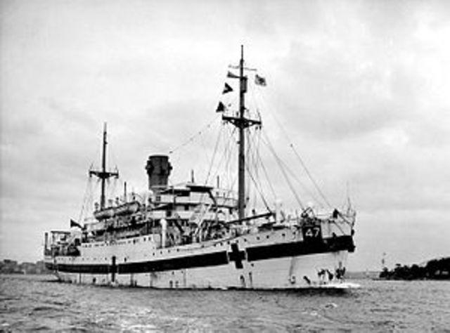 299 deaths- Australian hospital ship sunken by Japanese submarine.
