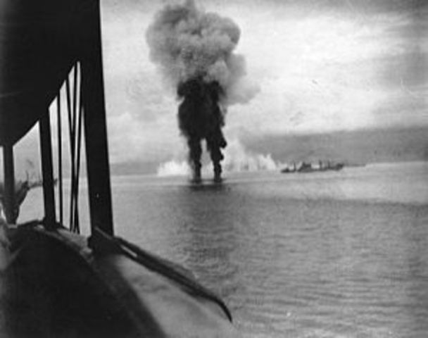 U.S. and Japanese warships brawled proceeded in the sinking of the U.S. Cruiser Juneau including the Sullivan brothers.