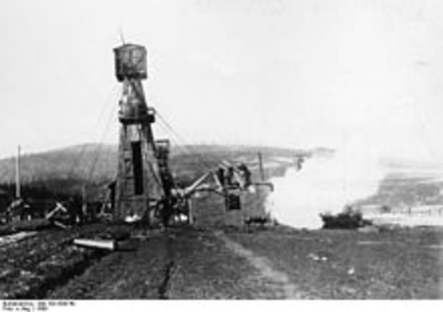 Rockefeller's Oil Drill was invented.