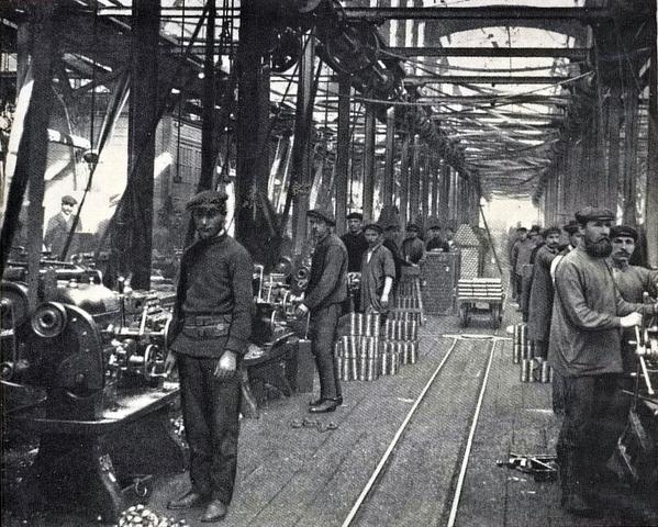 America industrializes