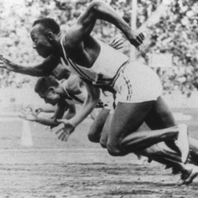 The History of the 100 meter race in the Olympics timeline