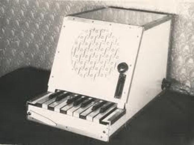Rhythmicon for Henry Cowell