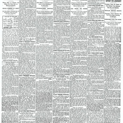 Ashley McDermott's History of the Newspaper in the United States timeline