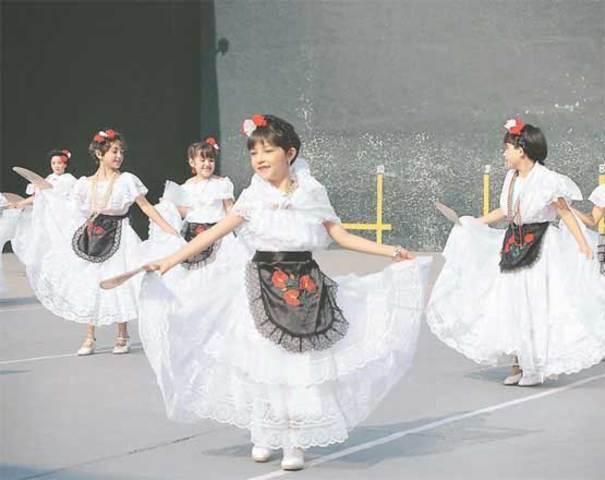 primera presentacion en danzas