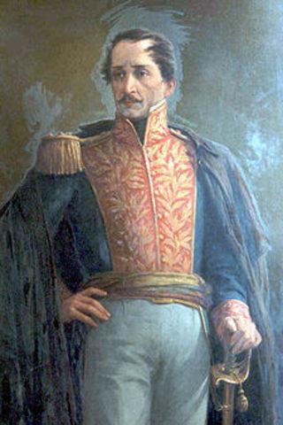Francisco de Paula Santander (1792-1840) (1832 -1837)
