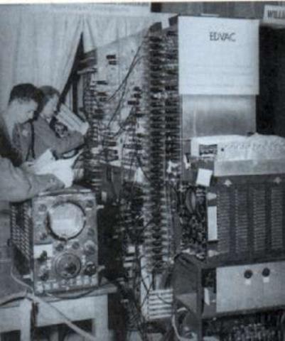EDVAC Segunda computadora programable