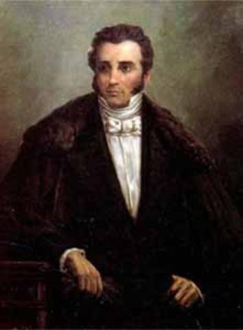Joaquín Mosquera (1787-1877) (1830-1831)