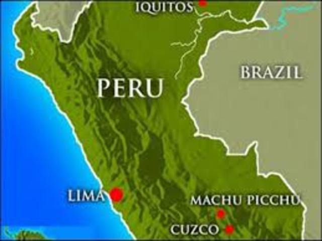 Perú-Declaración de Independencia