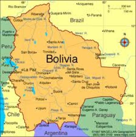 Bolivia - Guerra de Independencia