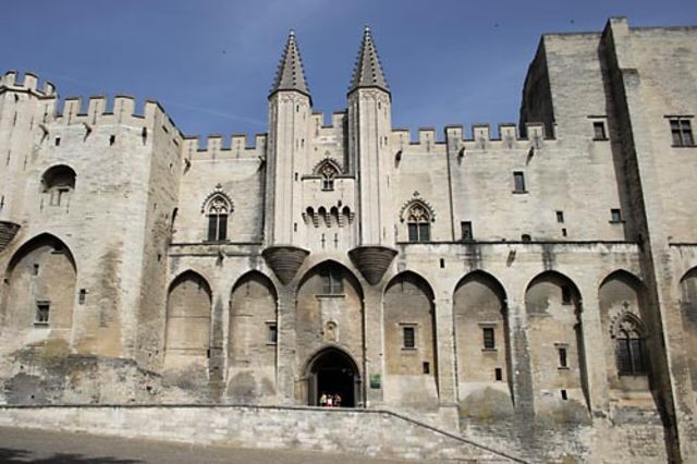 Papacy Moved to Avignon