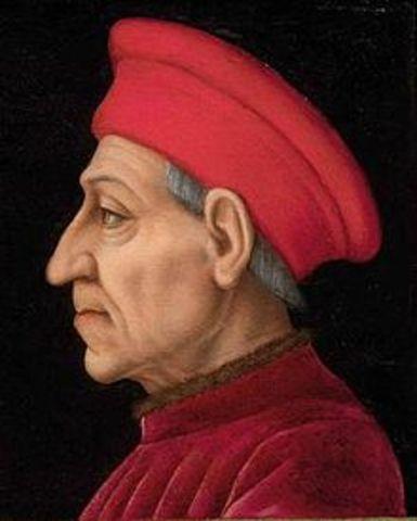 Death of Cosmo de Medici
