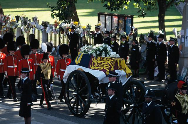 Princess Diana dies