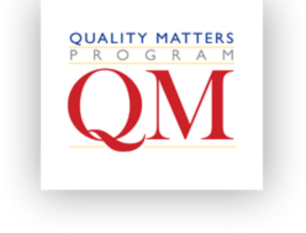 Applying the Quality Matters Rubric Certificate