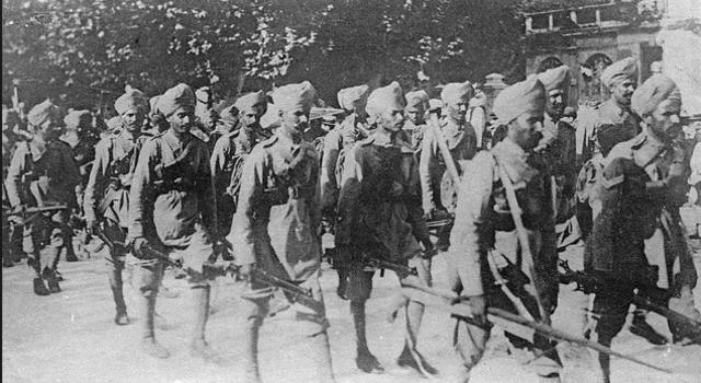 Indian troop