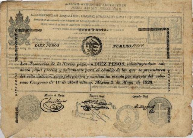 EL BILLETE REPUBLICANO