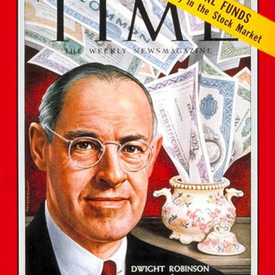 American Economics 1954-1966 timeline