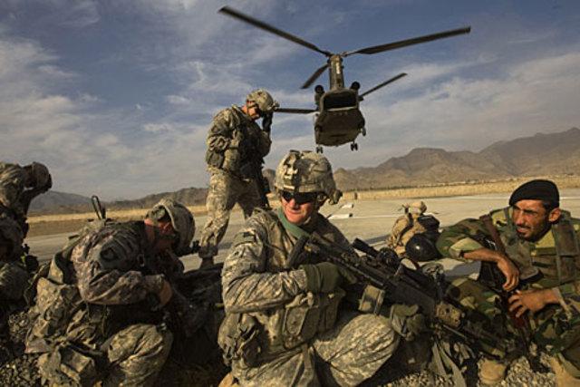 US Invades Afghanistan