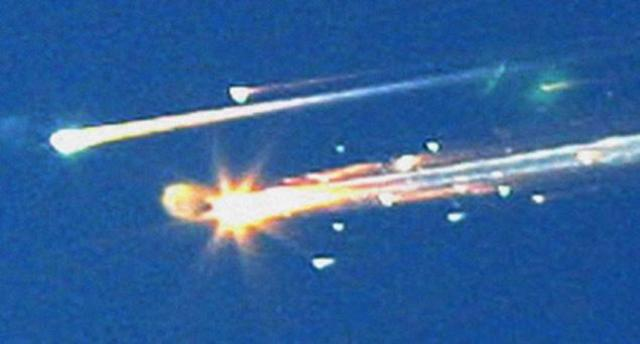 Columbia Space Shuttle Exploded