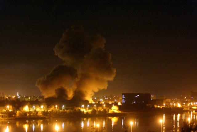 US Invades Iraq