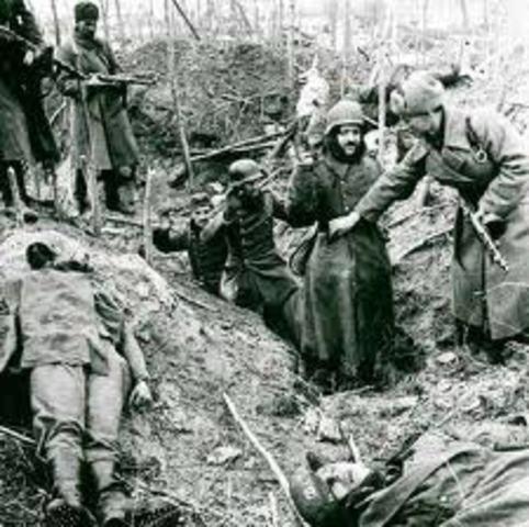 German Forces Surrender at Stalingrad