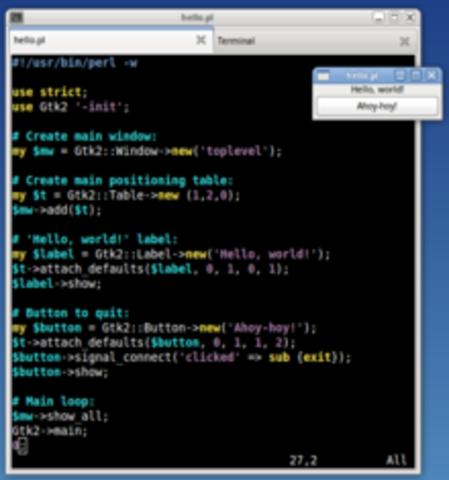Hello World - first coding programme