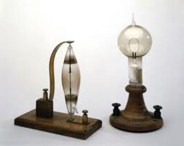 First Electric Incandescent Lamps