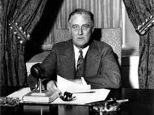 Roosevelt First Elected President