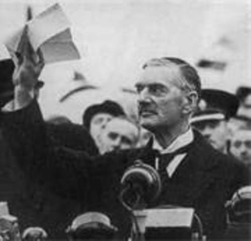 Britain's apeasement of Germany