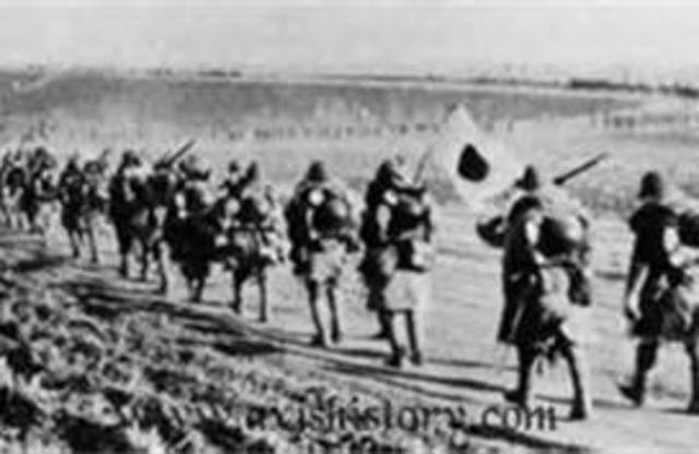 Japan Conquers Manchuria