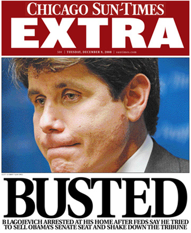 Blagojevich Convicted/Sentenced