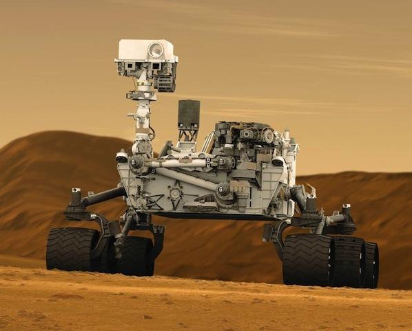 Curiosity Lands