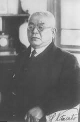 Emil von Behring (1854-1917) y Shibasaburo Kitasato (1856-1931)