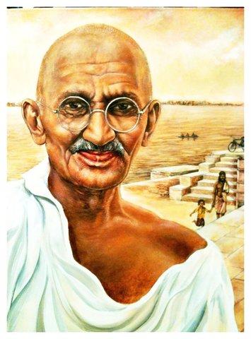 Gandhi's Death