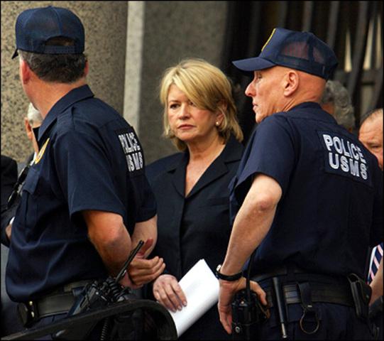 Martha Stewart is Convicted of a Felony
