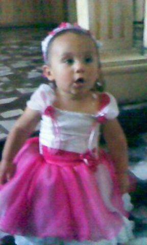 el bautizo de mi hija LAURA SOFIA
