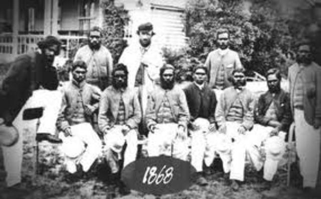 Australia First Cricket Team Touring England