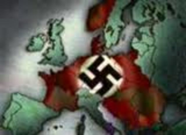 The invasion of Germany in Europe