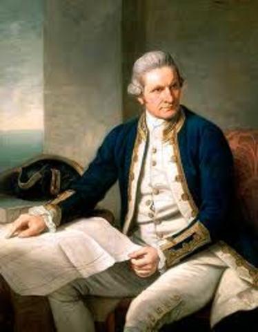 Ist Jan 1773,Captain James Cook