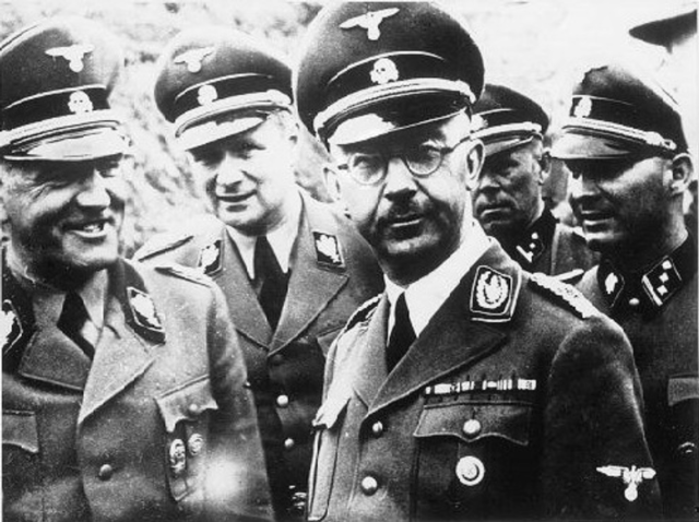 The German Gestapo is placed above the law