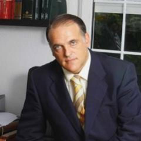 Tebas, presidente de la LFP