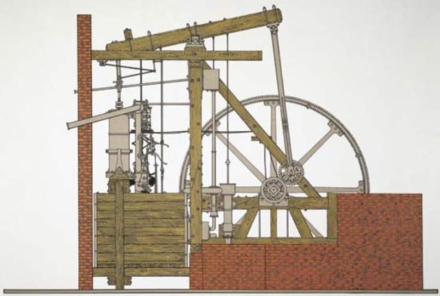 Steam Engine by James Watt